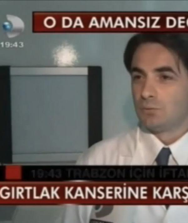 Prof. Dr. Kürşat Yelken. Gırtlak kanseri lazer ile tedavi. Kanal d Ana haber.