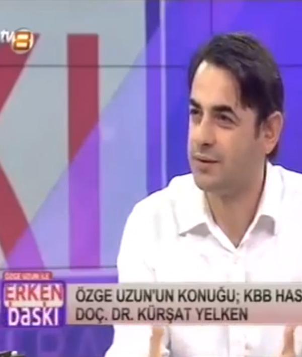 Prof. Dr. Kürşat Yelken, Özge Uzun Tv8 Erken Baskı. Ses Hastalıkları