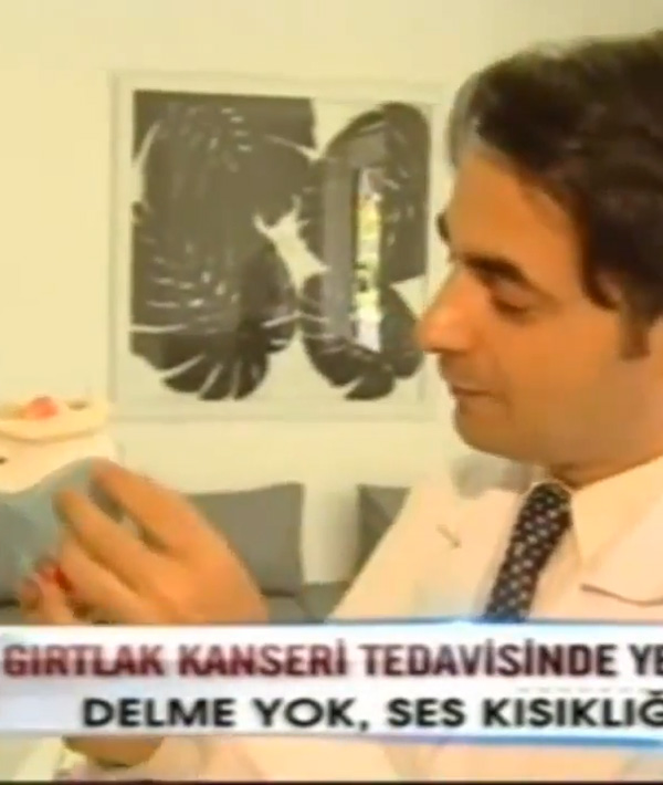 Prof. Dr. Kürşat Yelken, Gırtlak Kanseri Tedavisi. Ana Haber Show TV