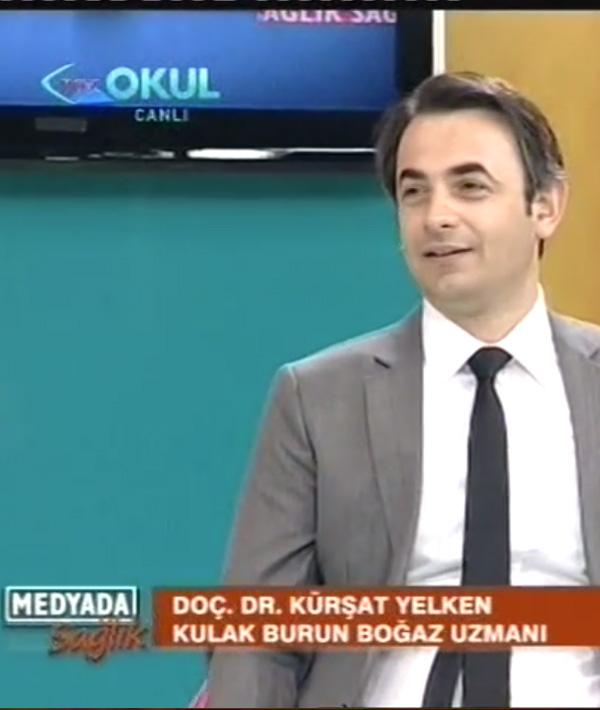Prof. Dr. Kürşat Yelken, Ses Hastalıkları, Gırtlak Kanseri Tedavisi. Trt Okul